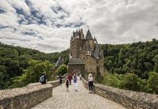 WIERSCHEM, ALLEMAGNE, LE 30 JUIN 2017 : Burg Eltz au Rhénanie-Palatinat image stock