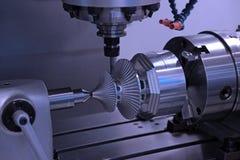 wiertniczy maszynowy workpiece Obraz Stock
