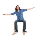 Wierzę mnie mogę latać Obraz Stock