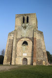 Wierza świętego Winoc opactwo, Bergues, Nord Pas de Calais, Francja Obrazy Stock