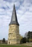 Wierza świętego Winoc opactwo, Bergues, Nord Pas de Calais, Francja Fotografia Royalty Free