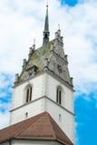 Wierza święty Nicholas, Friedrichshafen Obraz Royalty Free
