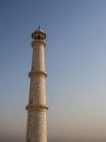 Wierza bielu marmur, Taj Mahal Fotografia Stock