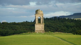 Wierza blisko Mussendon świątyni Zdjęcia Royalty Free
