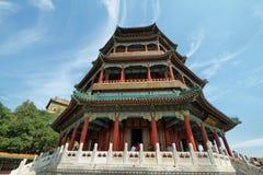 Wierza buddysty kadzidło w lato pałac Obrazy Royalty Free