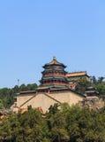 Wierza buddysty kadzidło w Pekin zdjęcia royalty free
