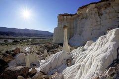 Wierza cisza, Uroczysty Escalante Krajowy zabytek fotografia stock