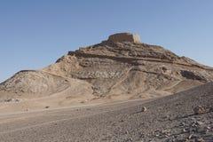 Wierza cisza, Yazd, Iran, Azja obrazy royalty free
