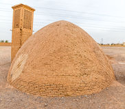Wierza cisza - Zoroastrian budynek fotografia royalty free