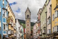 Wierza Dwanaście, Południowy Tyrol, Włochy Zdjęcia Stock