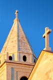Wierza farny kościół Obraz Stock
