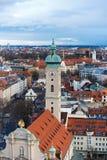 Wierza Heilig napad z bronią kościół Fotografia Stock