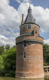 Wierza kasztel Wijk bij Duurstede Obrazy Royalty Free