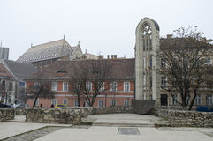 Wierza kościół świątobliwy Maryjny Magdalene Zdjęcia Stock