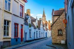Wierza kościół Nasz dama Bruges Obraz Stock