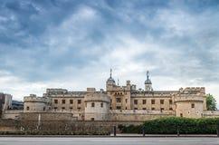 Wierza Londyn - Historyczny Royal Palace Fotografia Royalty Free