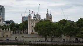 Wierza Londyn nad Rzecznym Thames w Londyn, Anglia obraz royalty free