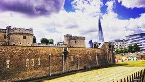 Wierza Londyn z drapaczem chmur w środkowym Londyn Obrazy Stock