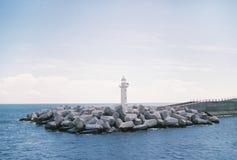 Wierza morze zdjęcie stock