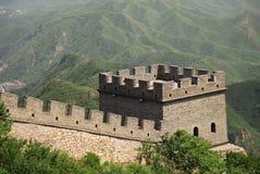 Wierza na Wielkim Murze Chiny zdjęcia stock