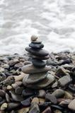 Wierza od kamieni o nadmorski Obrazy Stock