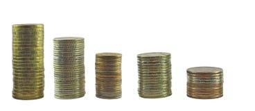 Wierza od monet ustawiać Obraz Stock