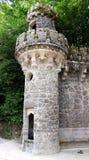 Wierza opiekuny Wrotni w Quinta da Regaleira w Sintra zdjęcie stock