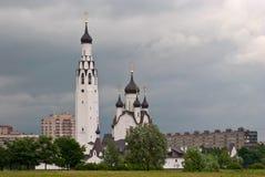 Wierza Ortodoksalny kościół. Zdjęcie Royalty Free
