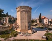 Wierza Romańska agora w Ateny i wiatry, Grecja Fotografia Stock