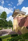Wierza - ruiny Catherine 24 km imperiału park szlachetności Petersburgu centrum pobyt rodzinny poprzedniego rosyjskiego selo st t Obraz Stock