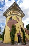 Wierza - ruiny Catherine 24 km imperiału park szlachetności Petersburgu centrum pobyt rodzinny poprzedniego rosyjskiego selo st t Zdjęcie Stock