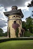 Wierza - ruiny Catherine 24 km imperiału park szlachetności Petersburgu centrum pobyt rodzinny poprzedniego rosyjskiego selo st t Zdjęcia Stock