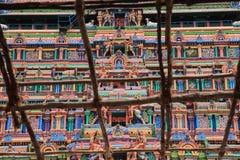 Wierza sławny Nataraja w Chidambaram fotografia royalty free