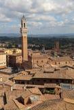 Wierza Siena w Tuscany, Włochy Zdjęcia Royalty Free