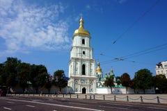 Wierza St Sophia ` s katedra w Kijów obraz stock