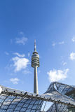 Wierza stadium Olympiapark w Monachium Obraz Stock
