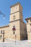 Wierza szpital de Santiago, Ubeda, Jaen, Hiszpania fotografia stock