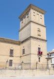 Wierza szpital de Santiago, Ubeda, Jaen, Hiszpania fotografia royalty free