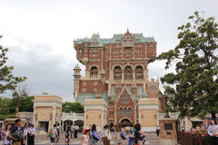 Wierza terror przy Tokio DisneySea Zdjęcie Stock