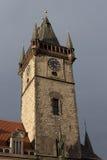 Wierza urząd miasta w Starym rynku Zdjęcia Royalty Free