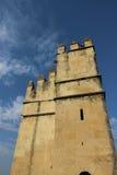 Wierza w Alcazaba; Almeria, Andalucia; Hiszpania Zdjęcie Stock