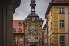 Wierza w Bamberg urzędzie miasta obraz royalty free