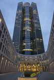Wierza 185 w Frankfurt magistrala - Am - Zdjęcia Royalty Free