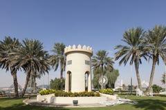 Wierza w rondzie w Liwa oazie Zdjęcia Royalty Free