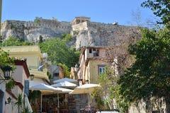 Wierza wiatru Ateny Grecja akropolu podróży miejsca przeznaczenia turystyka Obraz Royalty Free