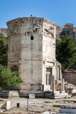 Wierza Wiatry Ateny Grecja Zdjęcie Royalty Free