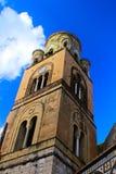 Wierza wokoło Amalfi wybrzeża Fotografia Royalty Free