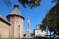 Wierza wybawiciela monaster St Euthymius w Suzdal, Rosja zdjęcia stock