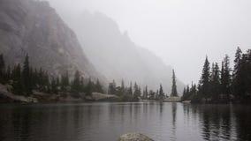 Wierzbowy jezioro Zdjęcia Royalty Free