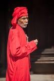 wierzącego mężczyzna stara religia Zdjęcia Royalty Free